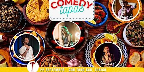 Comedy Tapas Tickets