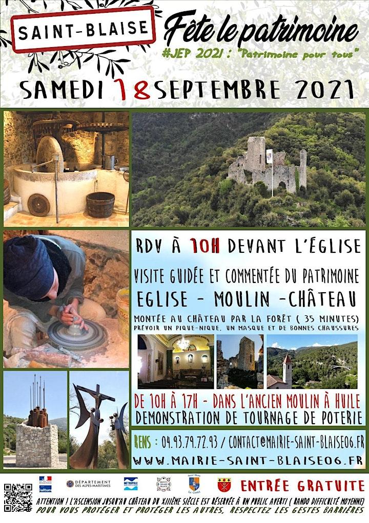 Image pour A la découverte du patrimoine Saint-Blaisois