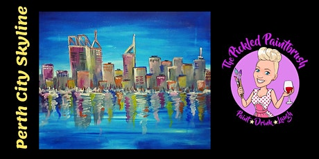 Painting Class - Perth City Skyline - September 24, 2021 tickets