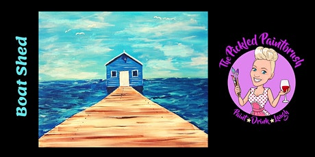 Painting Class - Boat Shed- September 23, 2021 tickets