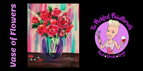 Painting Class - Vase of Flowers- September 30, 2021 tickets