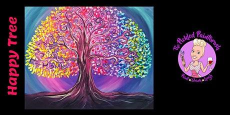 Painting Class - Happy Tree- October 7, 2021 tickets
