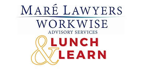 Mare Lawyers Lunch & Learn tickets