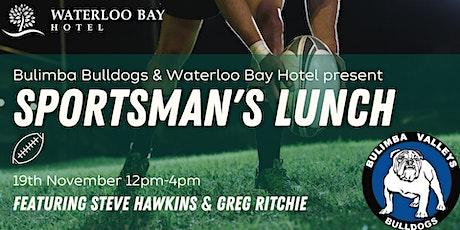 Bulimba Bulldogs Sportsman's Lunch tickets