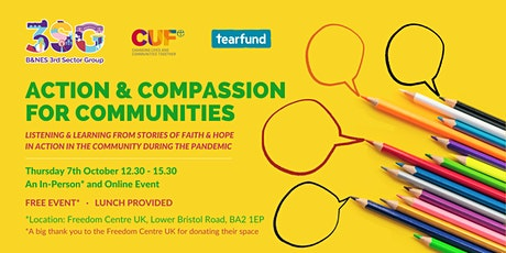 Action & Compassion for Communities (Hybrid Event) tickets