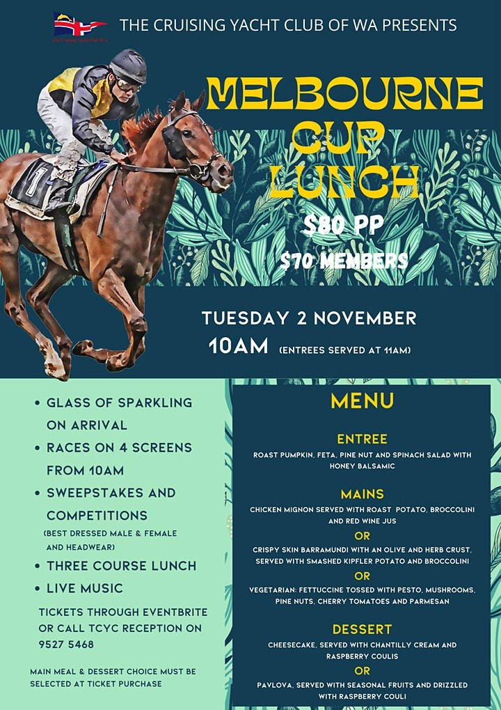 Melbourne Cup Lunch image