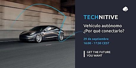 Webinar Technitive  | Vehículo autónomo boletos