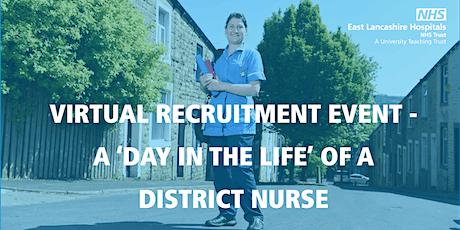 Virtual Recruitment Event - District Nursing tickets
