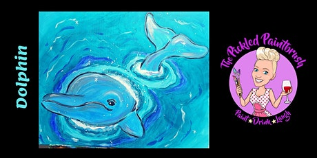 Painting Class - Dolphin - October 09, 2021 tickets