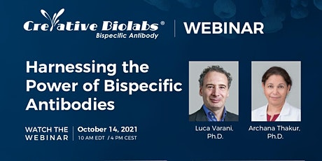 Webinar: Harnessing the Power of Bispecific Antibodies tickets