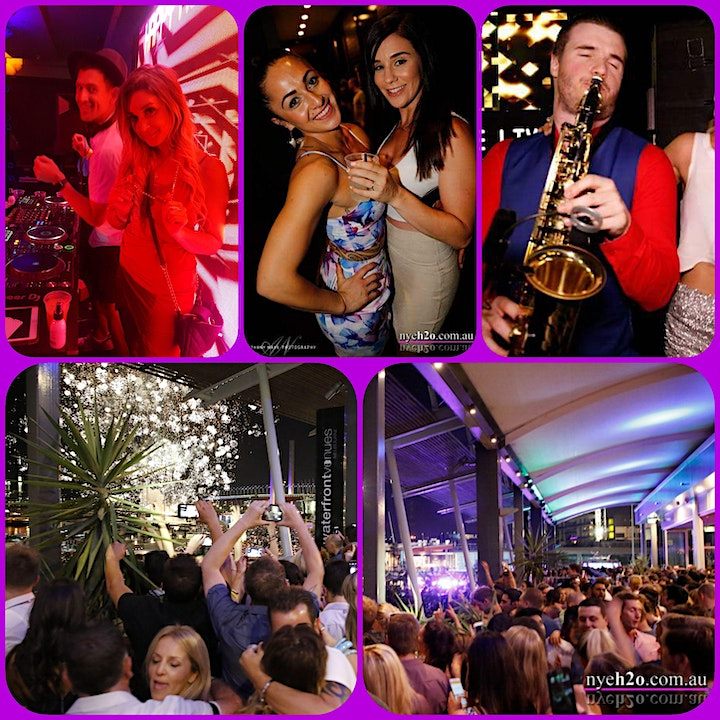 NEW YEARS EVE  H2oh - Docklands Waterfront /unlimited Bar & Food image