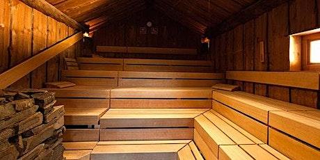 Sauna am 18. September 10:00-15:15 Tickets