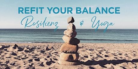 REFIT YOUR BALANCE!  RESILIENZ UND YOGA   BILDUNGSURLAUB Tickets