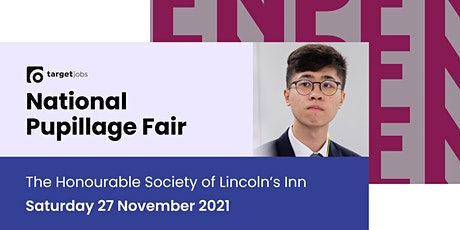 The TARGETjobs National Pupillage Fair tickets