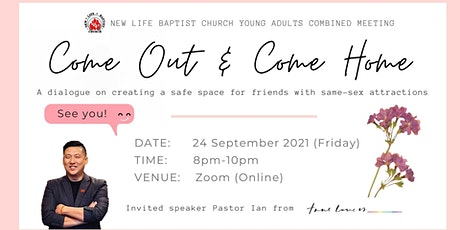 Young Adult Gathering | Come Out & Come Home tickets