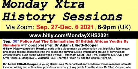Police And The Criminalising Of British African Youths By Numbers tickets