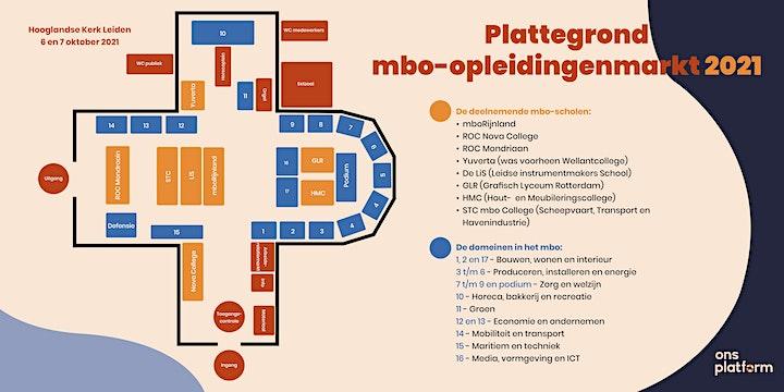 Afbeelding van Mbo-opleidingenmarkt Hooglandse Kerk 2021