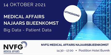 NVFG Medical Affairs Najaarsbijeenkomst 2021 tickets