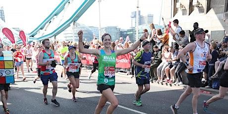London Marathon Post Race Reception tickets