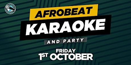 AFROBEAT KARAOKE & PARTY tickets