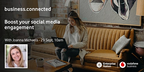 business.connected:  Boost your social media engagement tickets