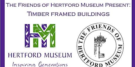 Timber Framed Buildings: An online talk by Helen Gibson tickets