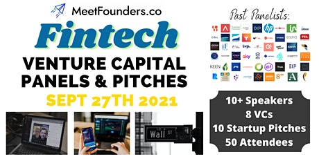 VC Panels & Pitches [Fintech Edition] by MeetFounders tickets