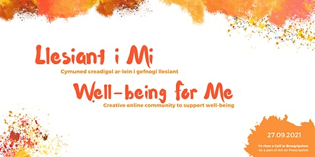 Llesiant i Mi // Wellbeing for Me tickets
