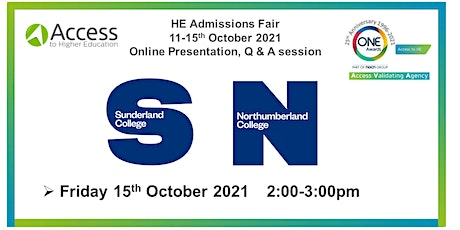 Presentation Q&A session - Sunderland and Northumberland College tickets