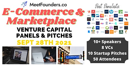VC Panels & Pitches [Ecommerce & Marketplace Edition] by MeetFounders tickets