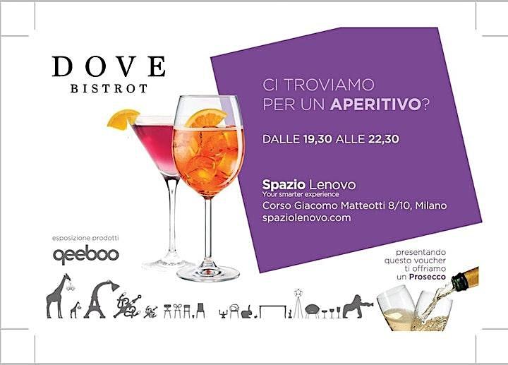 Immagine FUORISALONE Cocktail Party Mostra Qeeboo - Spazio Lenovo San Babila