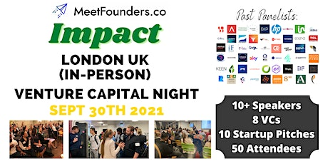 MeetFounders Impact Venture Capital Night [In-Person!] tickets