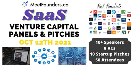 VC Panels & Pitches [SaaS Edition] by MeetFounders tickets