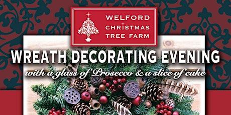 2021Wreath Decorating Evenings - Welford Christmas Tree Farm tickets