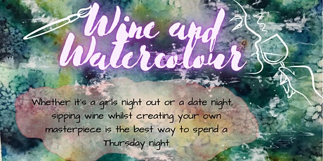 Wine and Watercolour! tickets