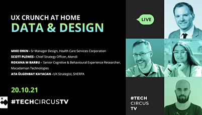 UX Crunch at Home - Data & Design tickets