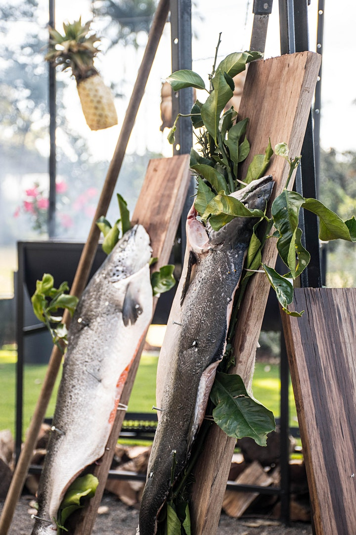 SEAFOOD - FISH - WEEKEND FIRE PIT - TERRA FIRMA X KENILWORTH HOMESTEAD image