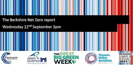 The Berkshire Net Zero report tickets