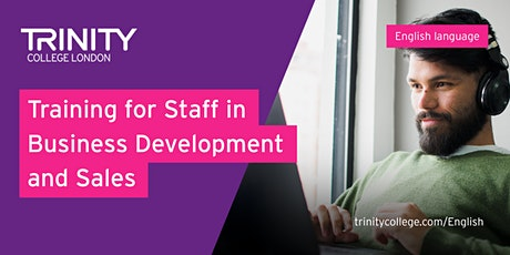 Understanding Trinity: Training for Business Development and Sales Staff tickets