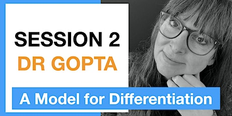 Session 2:  A Model for Differentiation tickets