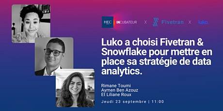 Luko a choisi Fivetran & Snowflake pour sa stratégie de data analytics billets