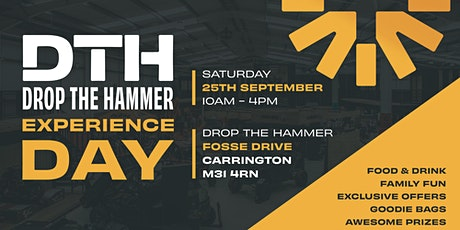 Drop the Hammer Experience Day tickets
