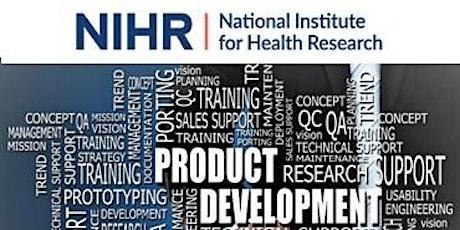NIHR i4i Product Development Awards - Launch Webinar - Call 23 - Oct2021 tickets