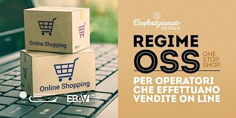 Regime OSS  Per operatori che effettuano vendite online. biglietti