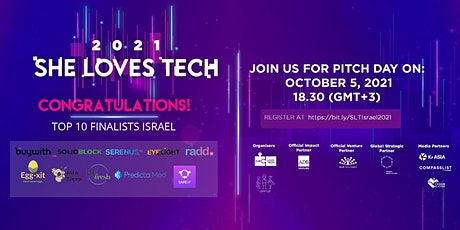 She Loves Tech 2021 - Israel Competition tickets