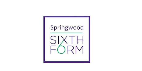 Springwood High School Sixth Form Year 13 Information Evening for Parents tickets