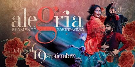 Espectaculo Flamenco del 13  al 19  septiembre en Málaga - Programacion entradas