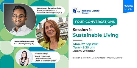 Session 1: Sustainable Living | Four Conversations tickets