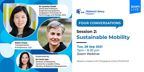Session 2: Sustainable Mobility | Four Conversations tickets