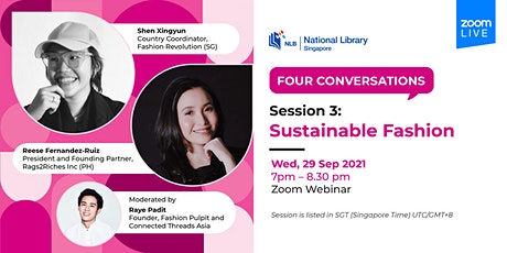 Session 3: Sustainable Fashion | Four Conversations tickets